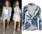 LADIES WOMENS CELEBRITY JESSICA WRIGHT FLORAL FLOWER PRINT BLAZER SKORT HOT 8-14