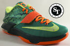 NIKE KD VII 7 653996 303 KEVIN DURANT WEATHERMAN EMERALD GREEN DS SZ 11 115