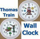 THOMAS Tank Engine Tribute Wall CLOCK Train Railroad James Tracks Percy Edward