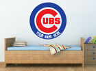 CHICAGO CUBS Logo Wall Decal w/ Your Name or Original Wording Home Decor Sticker on Ebay