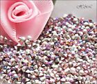 Swarovski Light Rose AB Xilion 1028 pointed Chatons + 1100 Foiled Craft Repair