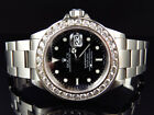 Excellent Mens Rolex Sumbariner 40MM Stainless Steel VS Diamond Watch 6.0 Ct