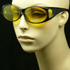 FIT OVER PRESCRIPTION GLASSES SUNGLASSES COVER ALL DRIVE FISH NEW FRAME COLOR