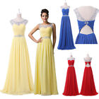 PLUS Long Maternity Evening Gown Bridesmaid Dresses Prom Dress Formal Party Gown