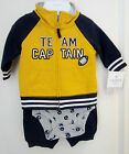 Carter's Baby Boy Team Captain 3 Piece Set NWT Football Outfit Sizes NB 3M 6M