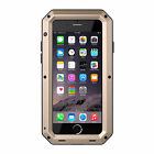Shockproof Aluminum Glass Metal Case Cover for iPhone 5s 6  6 Plus