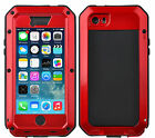 Shockproof Aluminum Glass Metal Case Cover for iPhone 5S 6 & Plus
