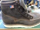 Danner #15563 Bull Run Moc Toe Boots  Made in USA