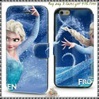 FROZEN ELSA NEW Slim Wallet Card Slot Cover Case for Iphone 4 4s 5 5s 6 4.7