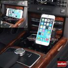 3-In-1 Phone Mount Holder+USB+Cigarette Port For Apple iPhone 4/4S/5/5C/5S/6/6+