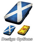 Scottish Flag Inspired Designs Printed Faux Leather Flip Phone Cover Case