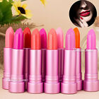 10Colors Makeup Lipstick Lip Blam Lipgloss Rouge Nude Pink Longlasting Cosmetics