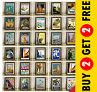 VINTAGE TRAVEL POSTERS * Most Popular Countries Cities Wall Art * A3 or A4 Size