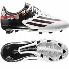 adidas F 10.3  TRX FG MESSI 2015 Soccer Shoes White / Black / Red KIDS- YOUTH