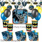 Batman Superhero  Party Kits Party Tableware! Fast Free Postage!!