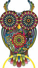 LARGE Abstract Owl Full Colour Wall Sticker Vinyl Decal Wall Art Transfer