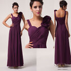 CHEAP Maternity Long Chiffon Evening Party Gowns Bridesmaids Prom Formal Dresses