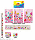 5 pce Fairy Stationery Set Party / Loot Bag Filler Fete Prizes Wholesale