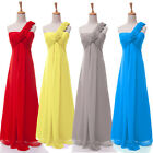 CHEAP 2015 Long Chiffon Evening Party Formal Ballgown Bridesmaid Prom Dress PLUS