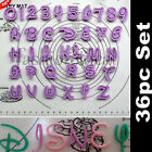 New Alphabet Letter Number Cake Decorating Cookie Cutter Sugarcraft Tool Set #F
