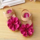 Baby Girls Kids Summer Sandal Toddlers Infant Casual Shoes Floral PU Leather