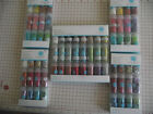 MARTHA STEWART 12 (4 CHOICES) OR 24 JARS GLITTER NIP FINE TINSEL LEAF BEAUTIFUL