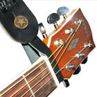 Leather Strap Hook for Acoustic Guitar. Available in 2 colours!