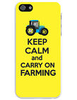 KEEP CALM AND CARRY ON FARMING MOBILE iPHONE CASE - iPhone 4/4S, 5/5S, 6/6 Plus