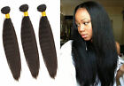 2015 New Brazilian Human Hair Extension 3Bundles KINKY STRAIGHT/COARSE YAKI Hot