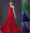 UK Fast Plus Size Long Bridesmaid Evening Prom Dress Masquerade Gown Party Dress