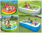 Intex Family Swim Center Lounge Garden Pool Childrens Paddling Swimming Pool