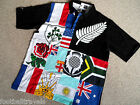 S M L COTTON TRADERS RUGBY SHIRT jersey New Zealand South Africa England Wales