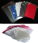 T-shirt Clear Garment Bags With Adhesive Tape For Clothing Mailing Bags DIY