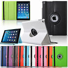 PU Leather 360 Deg Rotating Smart Stand Case Cover For Apple iPad Air 2 iPad 6