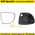SMART FORTWO 2007->15 RIGHT SIDE DOOR MIRROR GLASS SILVER CONVEX,NONHEATED&BASE