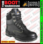 Mongrel 250020 Work Boots. Steel Toe Safety. Black Lace-Up. Brand New EXCUSIVE!