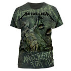 Metallica 'And Justice For All Neon All-Over' T-Shirt - NEW & OFFICIAL!