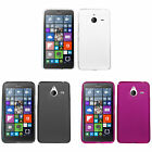 """1"" Clear TPU Candy Cover Carrying Case NOKIA MICROSOFT AT&T Lumia 640 XL 640XL"
