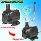 Submersible Aquarium Fish Tank Pond Water Air Pump 600L 1000L 1500L 3600L E12345