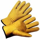 Deerskin Leather(Full/Split) Safety Driving Gloves Work/Driving FAST SHIPPING!