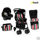 HAUCK SHOPPER N DRIVE SET IN RAINBOW BLACK COMES WITH WARRANTY