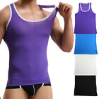 Summer Mens Vest Slim Fit Sleeveless Vest Tank Top Casual Gym Muscle T Shirts