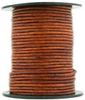 Xsotica® Round Leather Cord - 10 Feet - 37 Colors Available - Flat Rate Shipping