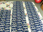 San Diego Chargers NFL Football Sports Team Logo Sewing Fabric 3 Pieces
