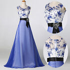 Long Vintage 50's Wedding Evening Formal Party Ball Gown Prom Bridesmaid Dresses