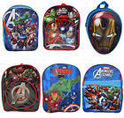 Kids Marvel Superhero Avengers Assemble School Bag Rucksack Backpack Brand New