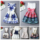 2015 Spring Summer New Womens Dress Vintage Digital Evening Party Print Dresses