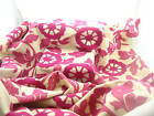 Pink Environment friendly flocked fabric sofa soft furnishing UPHOLSTERY fabric