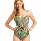 NEW Freya Swimwear Woodstock Plunge Swimsuit 3385 Willow Green VARIOUS SIZES