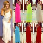 2015 New Fashion Summer Women Casual Bandage Beach Boho Maxi Sundress Long Dress